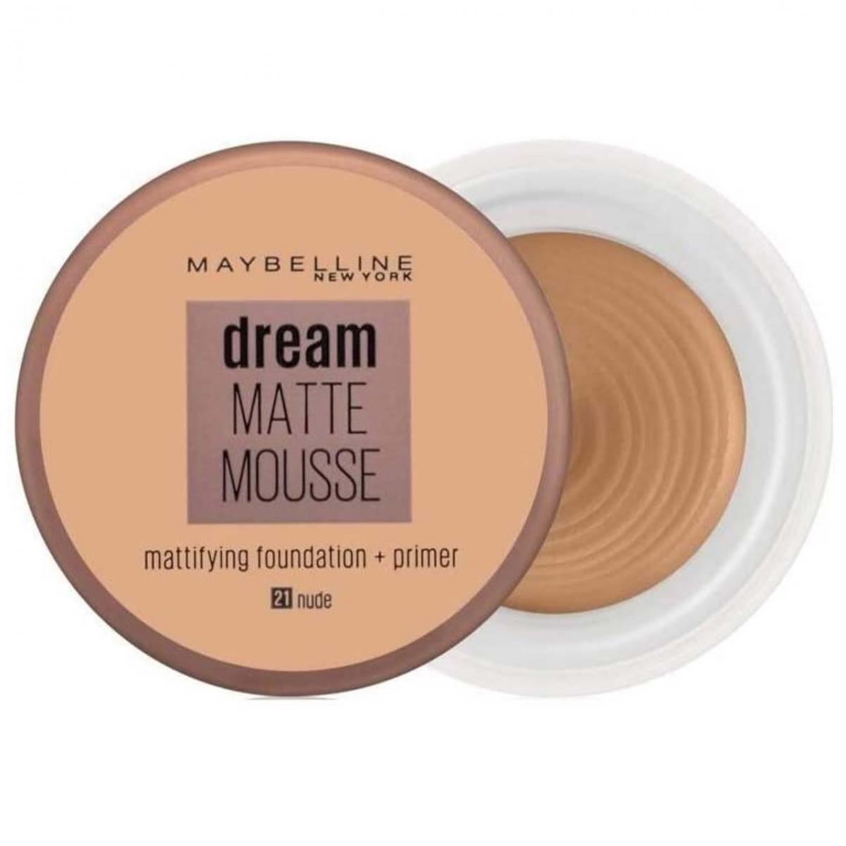 موس میبلین مدل Dream Matte شماره 21 حجم 18 میل