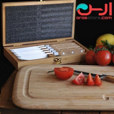 ست چاقوی آشپزخانه بامبوم مدل:hesso