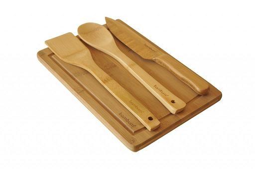 ست 4 تکه سالاد بامبوم مدل: tofu