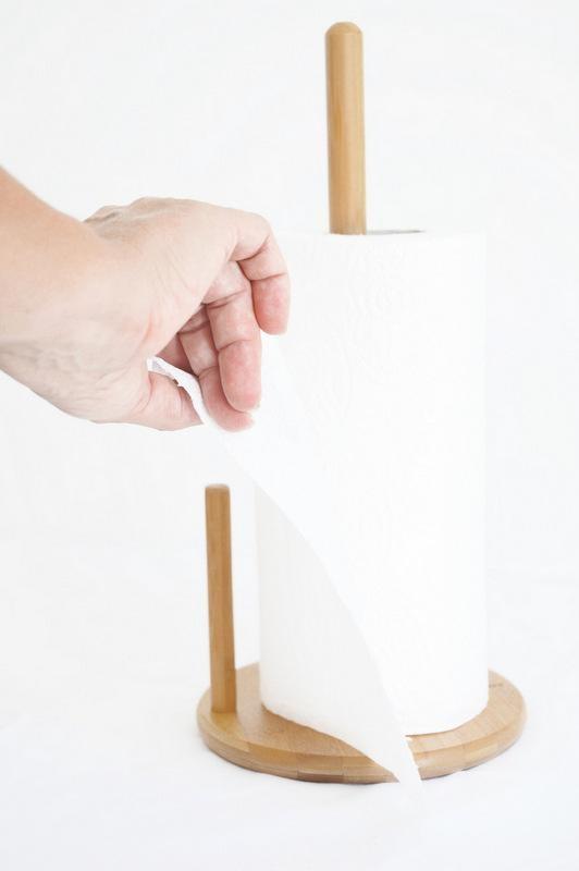 جا دستمال کاغذی بامبوم مدل:cornetti