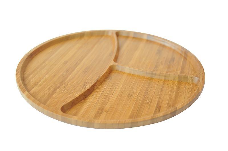 سینی مزه بامبوم مدل: tortilla