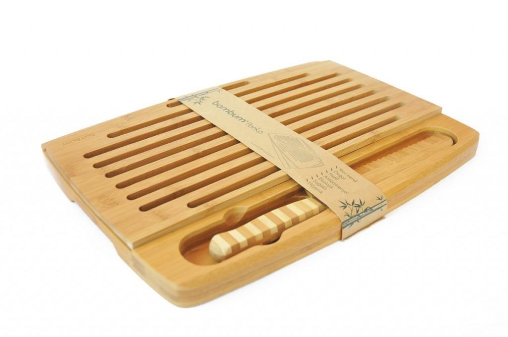 ست 3 تکه برش نان بامبوم مدل: panko