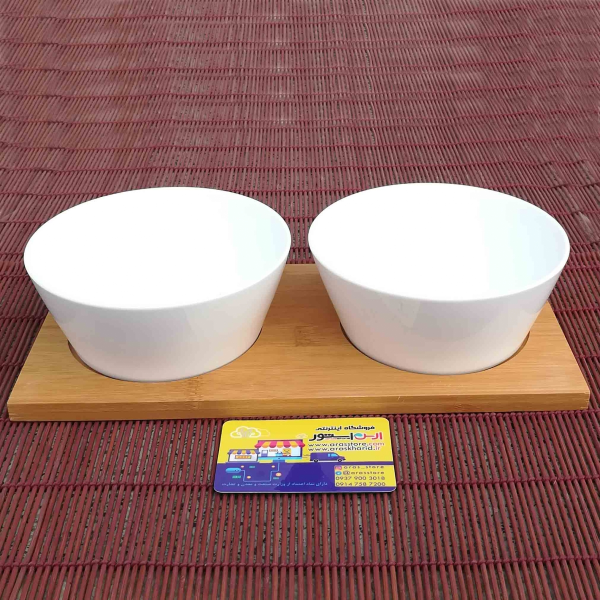 bowl bamboo ceramic