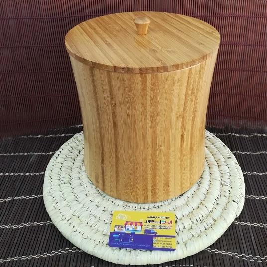 ظرف نگهداری در دار بامبو