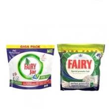 پک نمک و قرص ماشین ظرفشویی فیری Fairy