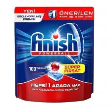 قرص ماشین ظرفشویی فینیش All In one max تعداد 100 عددی FINISH