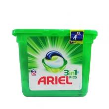 کپسول ژله ای ماشین لباسشویی آریل مخصوص لباس رنگی 24 عددی Ariel