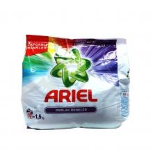 پودر ماشین لباسشویی آریل مدل PARLAK RENKLER حجم 1/5 کیلوگرمی