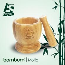 هاون چوبی بامبوم مدل : motta