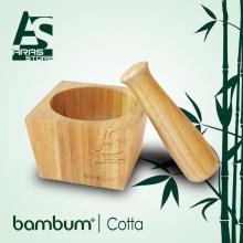 هاون چوبی بامبوم مدل : cotta