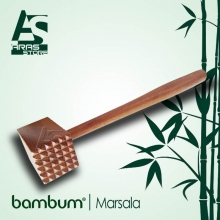 گوشت کوب چوبی بامبوم مدل : Marsala