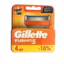 تیغ یدک ژیلت مدل FUSION 5 تعداد 4 عددی Gillette