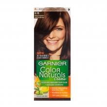 کیت رنگ مو گارنیر شماره 5.15 پایه رنگ قهوه ای