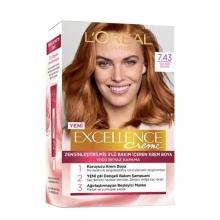 کیت رنگ مو لورآل مسی سری EXCELLENCE شماره 7.43