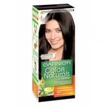 کیت رنگ مو گارنیر شماره 3 پایه رنگ قهوه ای تیره