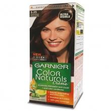 کیت رنگ مو گارنیر شماره 5.25 پایه رنگ قهوه ای گرم