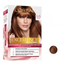 کیت رنگ مو لورآل قهوه ای شکلاتی شماره 6.35 سری EXCELLENCE