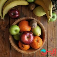 کاسه ی سالاد و میوه بزرگ بامبوم مدل:guado
