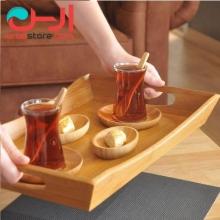 سینی سرو چای متوسط بامبوم مدل:favoritte