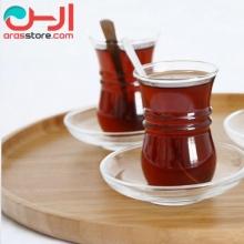 سینی چای بامبوم مدل:cappuccino