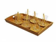 ست 22 پارچه چایخوری بامبوم مدل GALA