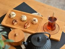 سینی چای بامبوم40سانتی متر مدلserra