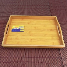 سینی چای متوسط کف فیبر بامبو