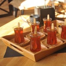 سینی سرو چای بزرگ بامبوم مدل:favoritte