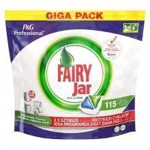 قرص ماشین ظرفشویی فیری 115 عددی مدل جار fairy jar