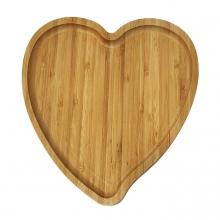 بشقاب قلبی 23سانتی بامبو
