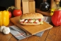تخته گوشت پایه دار بامبوم مدل: riba
