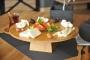 سینی سرو صبحانه پایه دار بامبوم مدل:rafael