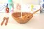 ظرف میوه و سالاد میوه بامبوم مدل: paella